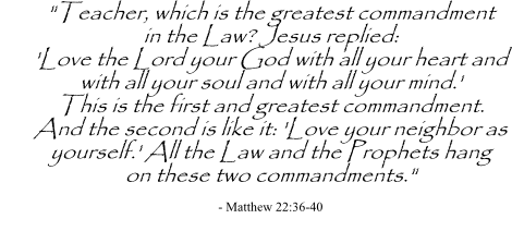 Daily Inspiration: Matthew 22:36-40